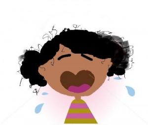 girl whining